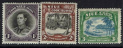Niue SG# 75 - 77 - Mint Light Hinged - 030517