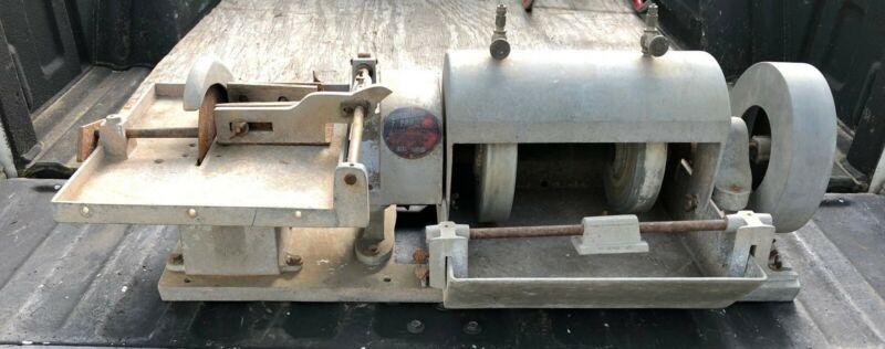 Vintage Highland Park E-10 Lapidary Gem Saw Grinder Polisher for Restoration