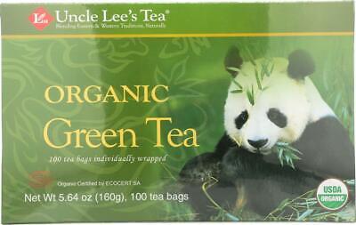 Uncle Lee's Legends of China Organic Green Tea - 100 Tea Bag