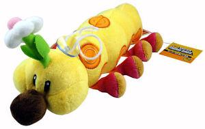 Super Mario Bros Wiggler Caterpillar 11in Stuffed Toy Plush Doll Xmas Gifts