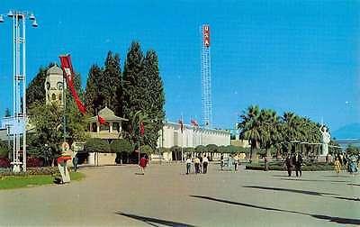 Group Of 4 Izmir Turkey Town Landmarks Multiview Vintage Postcards K25086