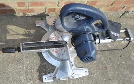 Mitre Chop Saw, Wickes 2100W 255mm 4-Way Sliding Compound 240V