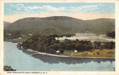 Peekskill New York State Campe Birds Eye View Antique Postcard J77286