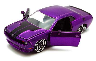 Dodge Challenger Purple Jada Bigtime Muscle 92034 1/24 scale Diecast Model Car