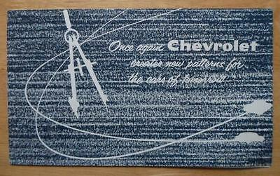 Chevrolet Nomad Concept Car (CHEVROLET CORVAIR & NOMAD orig c1955 Rare Concept Cars Brochure - Experimental)