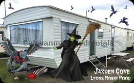 BARGAIN AUTUMN BREAKS: JAXDEN COVE: Lyons Robin Hood Holiday Park, Rhyl, North Wales