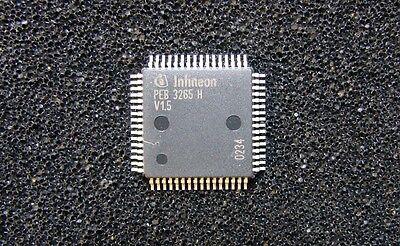Infineon Peb3265hv1.5 Voice Access Codec Ic, Mqfp-64 Pin