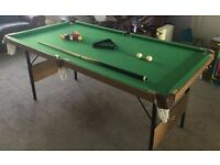 Foldable Amateur Pool Table (Debut)