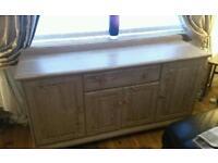 Sideboard limed oak effect