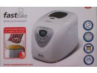 Bread Machine - Morphy Richards FastBake. Boxed