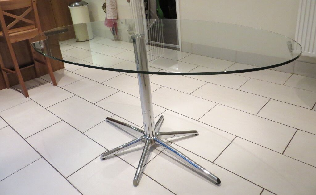 oval glass dining table. Dwell Oval Glass Dining Table D