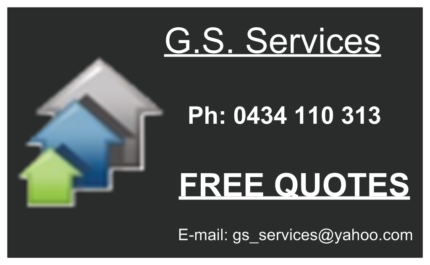 From 23$ p/h  G.S. Gardening & Handyman Services (Free Quote)