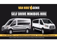 SELF DRIVE MINIBUS HIRE or MINIBUS HIRE WITH DRIVER - We Cater for Everyone ! Price Match Guarantee