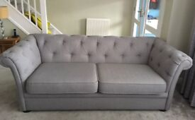 DFS 3 Seatter Sofa | Excellent condition/1 year old
