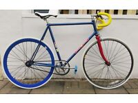 Very rare Soviet Olympic track bike, fully serviced, converted to single speed (can be fixie)