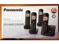 Panasonic Quad phones and answer machine