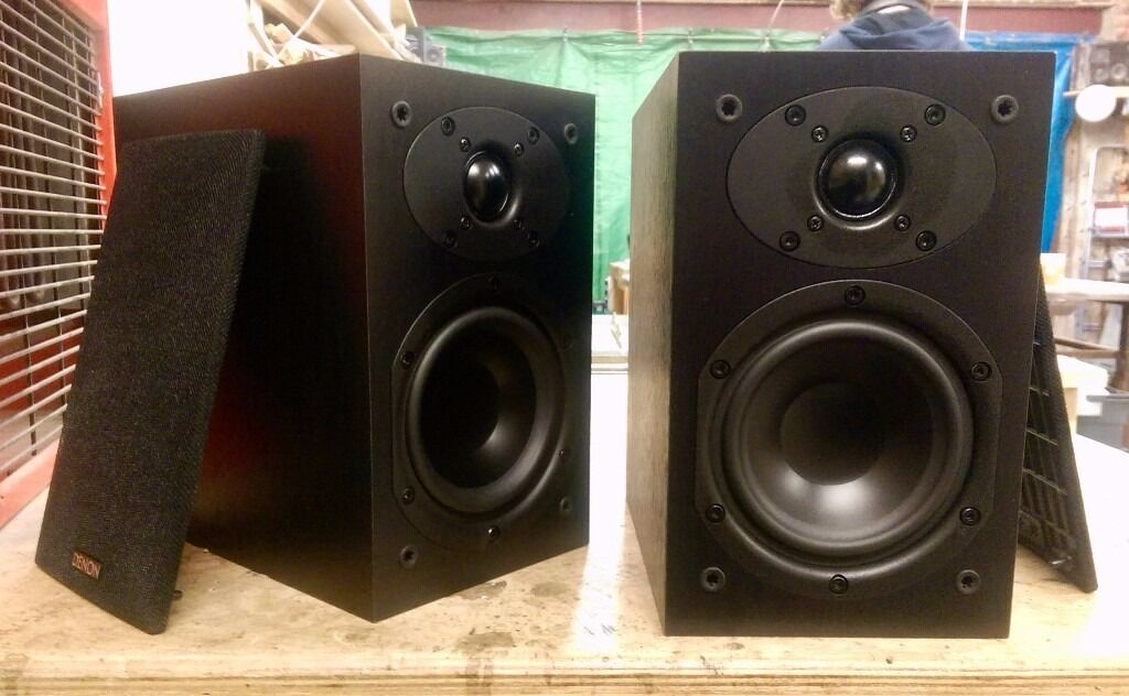Denon SC M39 Bookshelf Speakers