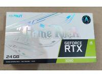 Palit GeForce RTX 3090 GAMEROCK Graphics Card Brand New Sealed