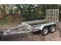 Indespension plant trailer 8 x 4 ifor ramp like new Ivor mini digger mower