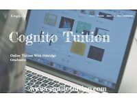 Cognito - Oxbridge Tutors in Biology, Chemistry, Physics, Math - Free Tutoring Consultation