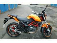 Motorbike 125cc ksr moto grs like new loads of extras read ad