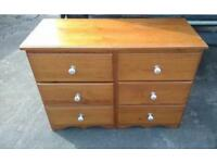Pine drawers (delivery available)