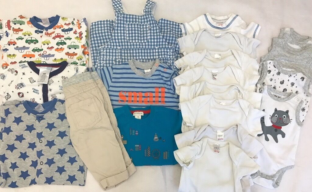 Baby Boy Clothes Bundle 3 6 months Usedin Wembley, LondonGumtree - Its used baby Boy/unisex Clothes from 3 6 months Mainly from Next and few are from Miniclub,Vitamin baby etc Total number of pieces are 19 and all pictured individually for more clarity