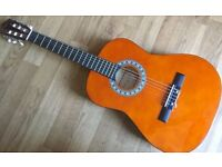 Left hand Martin Smith Size Linden Classical Acoustic Spanish Guitar with nylon strings 3/4