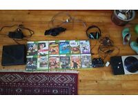 Xbox 360 bundle with 320GB HDD with 12 games