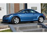 Audi TT, Blue, 2001, 1.8 Turbo, 225bhp