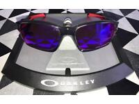 Oakley Chainlink Smoke Grey / 00 Red Iridium