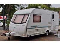 2000/01 COACHMAN WANDERER 15/2, 2 BERTH WITH END BATHROOM & AWNING (CRiS DOC/CHECK, ALKO STABILIZER)