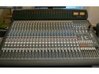 Soundtracs Topaz PROJECT 8 24:8:2 Mixing Desk Incl. Meter Bridge