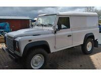 2008 land rover defender 110 hard top 2.4 diesel £10,950 ono. no vat