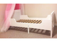 KIDS / TODDLER BED with MATTRESS ********* IKEA