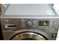 All in 1:SAMSUNG Ecobubble Washer(9kg)+Dryer(6kg), Stainless Steel--RPR £700!!!