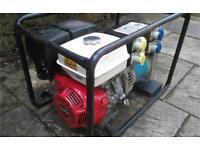 Stephill Honda 11hp 6kva Petrol Generator 240v / 110v Just Serviced