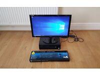 "HP EliteDesk 800 G2 SFF Intel Core i5-6500 4GB RAM 500GB Windows 10 Pro Samsung Full HD 24"" Monitor"