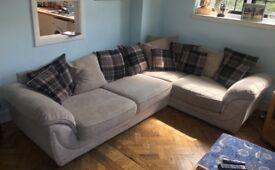 Corner sofa - 4 years old