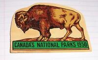 Canada National Parks motor licence -Wanted-