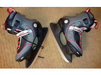 Size 5 B Square Flex System Ice Skates REDUCED TO CLEAR