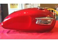Triumph T100 Bonneville Petrol Tank 2004 very good condition no scratches chips or dents