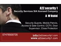 Reliable SIA security company,restaurant, retail, club, event, building, bodygurd