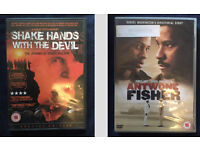 Pack of 6 DVDs (Shooting dogs, Tsotsi, Mandela, Mugabe, Shake hands with the devil, Antwone Fisher)