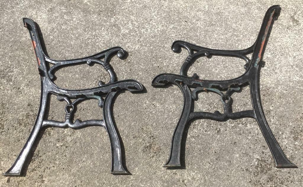 Metal Garden Bench Ends In Yeovil Somerset Gumtree