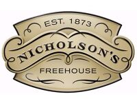 Kitchen Manager - Nicholsons Mitre Cambridge - Upto £26,000