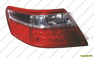 Tail Light Driver Side Hybrid High Quality Toyota Camry 2007-2009