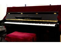 Kawai K15E Upright Acoustic Piano - Almost New, Regularly Tuned, Still With 3 years Warranty