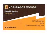 NICEIC Electrician / plumbing Fully Qualified