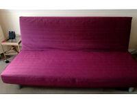 IKEA BEDDINGE LÖVÅS Three-seat sofa-bed
